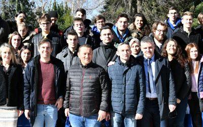 Srednja šola Slovenj Gradec in Muta na srečanju v Metkoviću v južni Dalmaciji