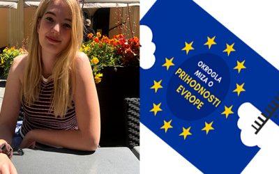 Lara Mori – zmagovalka literarnega natečaja Europe Direct Koroška o prihodnosti Evrope